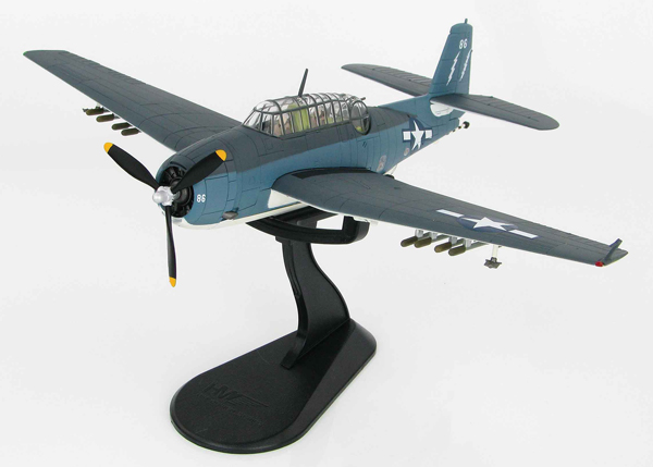 HA1219 - Hobby Master TBM 3 Avenger White 86 of