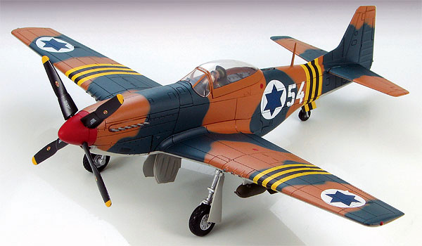 HA7709-X - Hobby Master P 51 Mustang Fighter 101st Scorpion