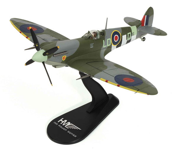 HA8315 - Hobby Master Spitfire MkIxc P_O Pierre Clostermann DFC
