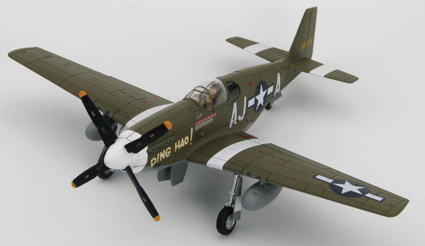 HA8508 - Hobby Master P 51B Mustang 487th Fighter Sqaudron