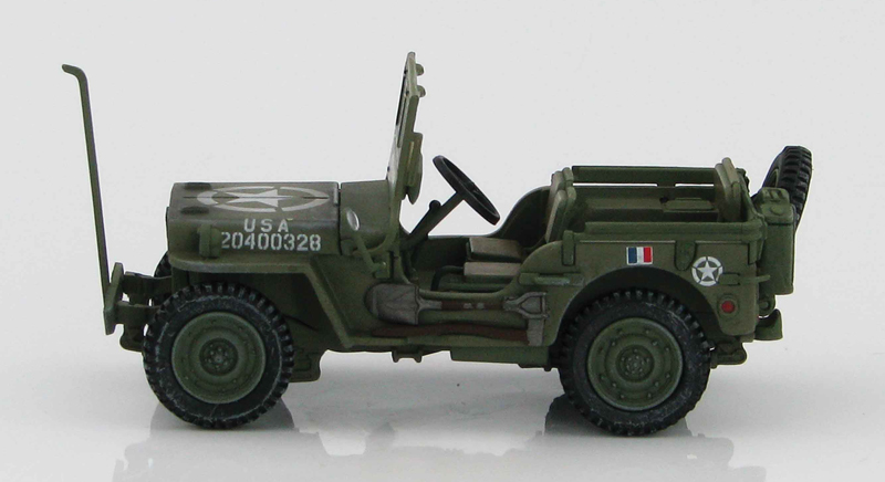 HG1609 - Hobby Master Willys MB Jeep 2nd Armored Division