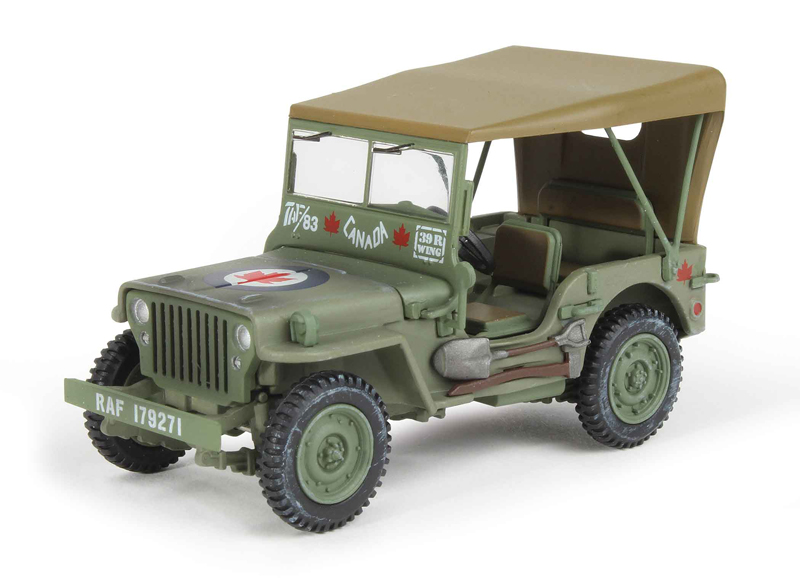 HG1610 - Hobby Master Willys MB Jeep 39R Wing 400