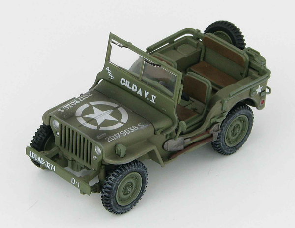 HG1611 - Hobby Master Willys MB Jeep 101st Airborne Division