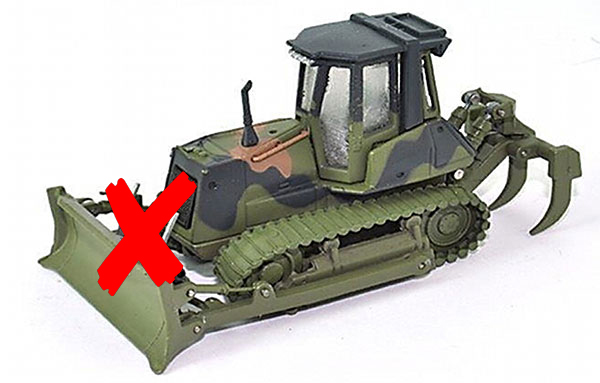 006499-X1 - HWP New Holland D180 Bulldozer Military Version
