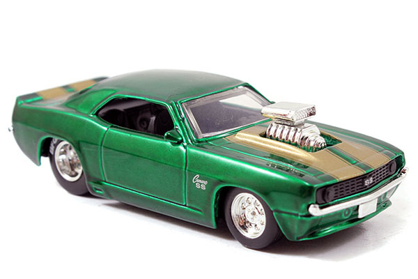12006-W18-B - Jada Toys 1969 Chevy Camaro Big Time Muscle