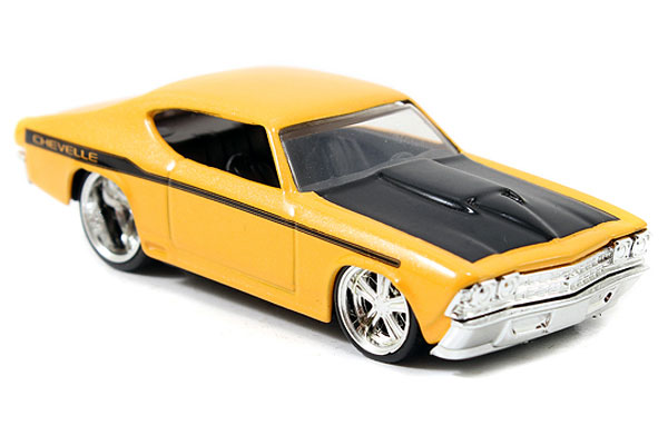 12006-W18-C - Jada Toys 1969 Chevy Chevelle Big Time Muscle