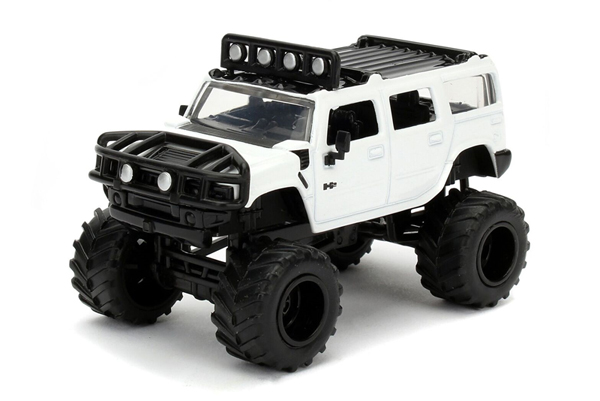 14020-W12-D - Jada Toys 2003 Hummer H2 Pickup Just Trucks