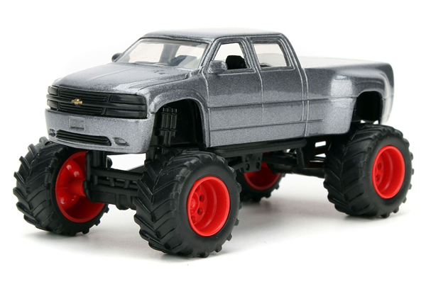 14020-W13-C - Jada Toys 1999 Chevrolet Silverado Dooley Just Trucks