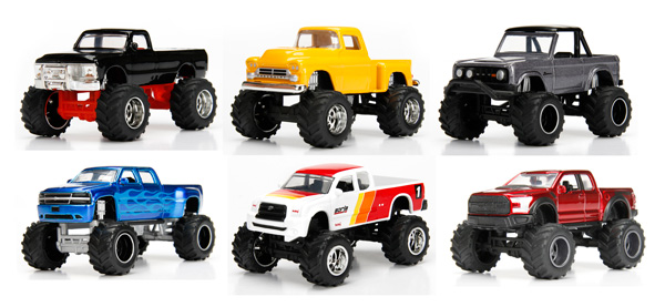 14020-W16-CASE - Jada Toys Just Trucks Wave 16 6 Piece