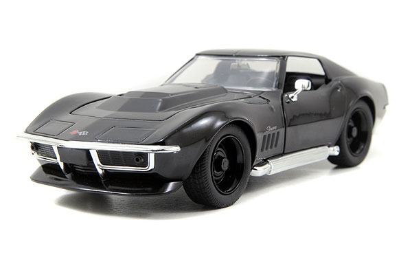 96891BK - Jada Toys 1969 Corvette Stingray