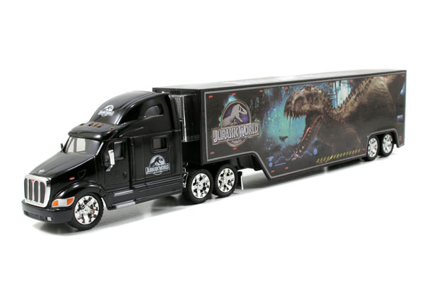 97073 - Jada Toys Peterbilt Model 387 Long Hauler Jurassic