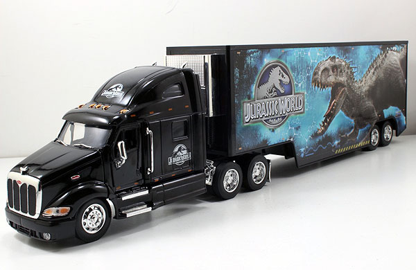 97311 - Jada Toys Jurassic World Peterbilt Model 387 Long Hauler