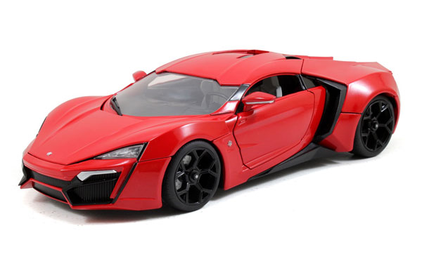 97388 - Jada Toys Lykan HyperSport Furious 7 2015 Collectors