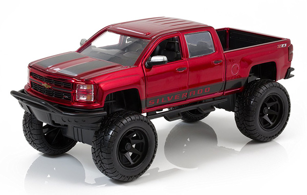 97476R - Jada Toys 2014 Chevy Silverado Off Road Pickup
