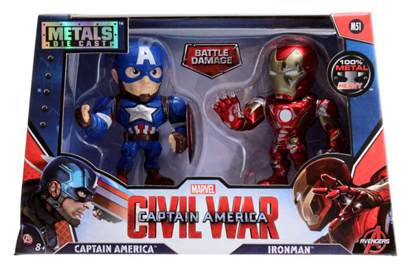 97563 - Jada Toys Captain America and Iron Man