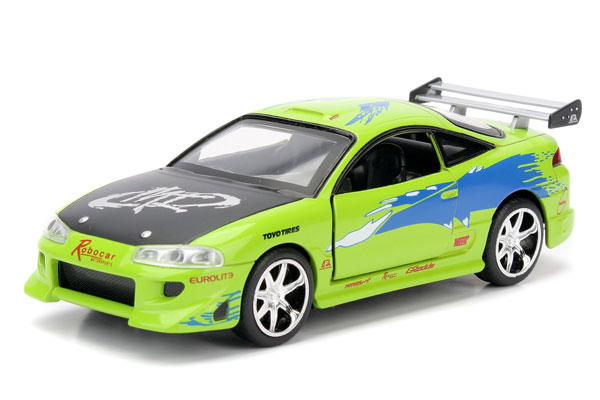 97609 - Jada Toys Brians Mitsubishi Eclipse Fast and Furious