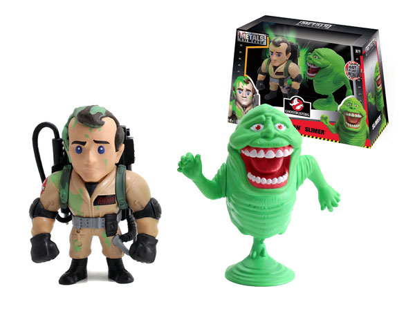 97719 - Jada Toys Slimed Peter Venkman and Slimer Twin