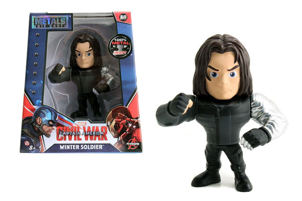 97764 - Jada Toys Winter Soldier 4 Inch Diecast Metal