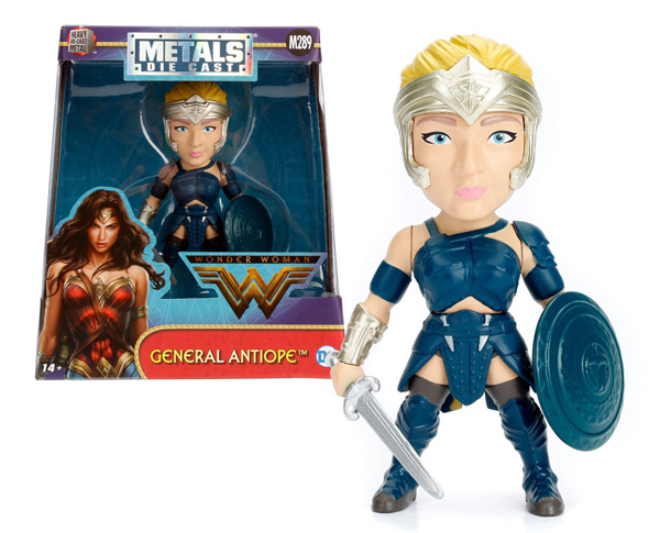 98052 - Jada Toys General Antiope 4 Inch Diecast Metal Figure