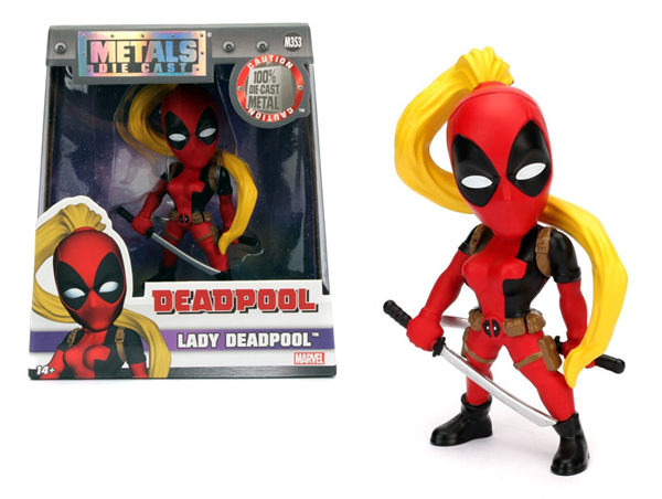98095 - Jada Toys Lady Deadpool 4 Inch Diecast Metal