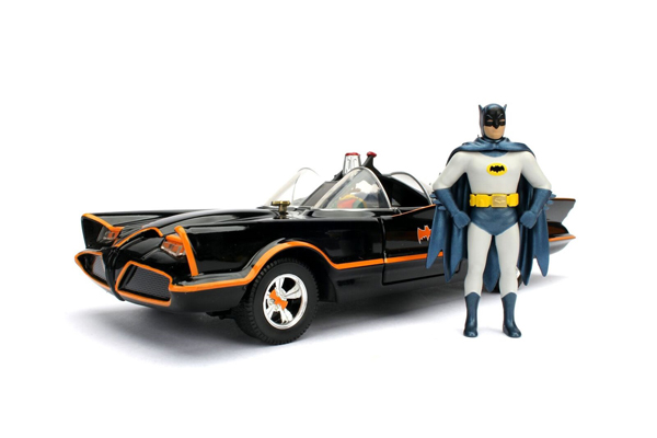 98259 - Jada Toys Batmobile with Batman Figure 1966 Classic