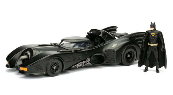 98260 - Jada Toys Batmobile with Diecast Batman Figure Batman 1989
