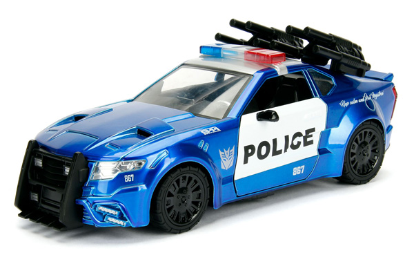 98400 - Jada Toys Barricade Police Interceptor Transformers