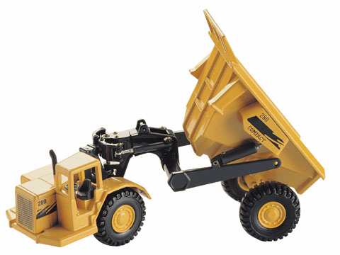 280 - JOAL Compact Articulated Quarry Dump Truck _