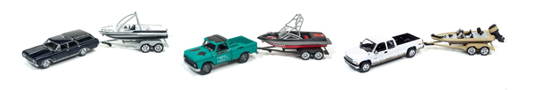 JLBT001-B-SET - Johnny Lightning Gone Fishing Release 1B
