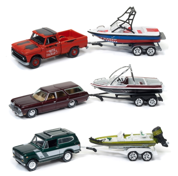 JLBT004-A-SET - Johnny Lightning Gone Fishing 2017 Release