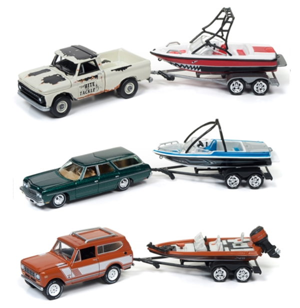 JLBT004-B-SET - Johnny Lightning Gone Fishing 2017 Release 4B