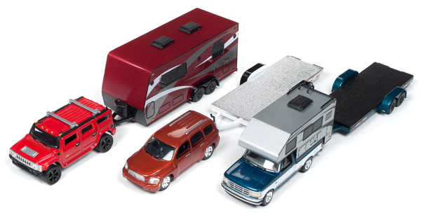 JLBT008-B-SET - Johnny Lightning Truck Trailer 2018 Release