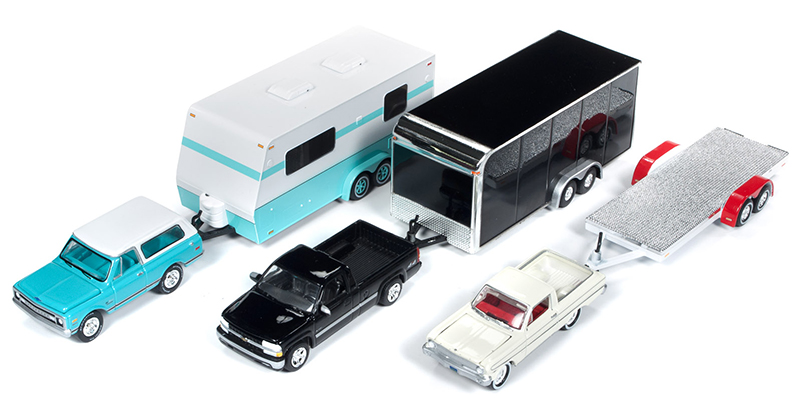 JLBT009-A-CASE - Johnny Lightning Truck Trailer 2018 Release