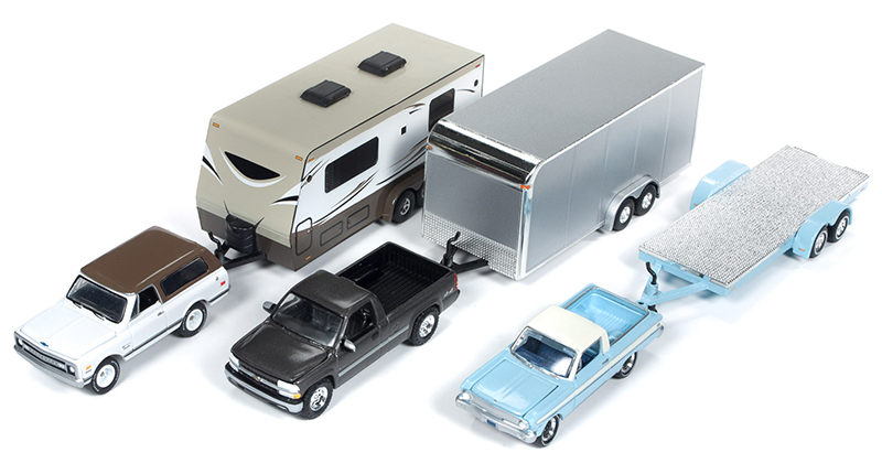 JLBT009-B-CASE - Johnny Lightning Truck Trailer 2018 Release