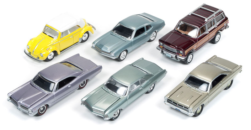 JLCG001-B-CASE - Johnny Lightning Classic Gold 6 Piece