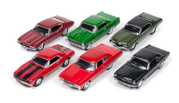 JLMC002-A-CASE - Johnny Lightning Muscle Cars Release 2