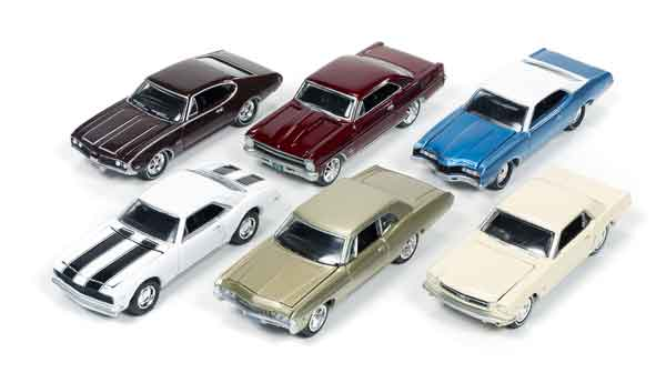 JLMC002-B-CASE - Johnny Lightning Muscle Cars Release 2