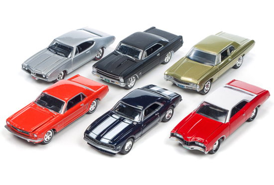 JLMC002-D-SET - Johnny Lightning Muscle Cars Release 2