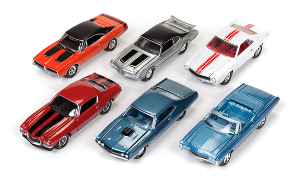 JLMC003-B-SET - Johnny Lightning Muscle Cars Release 3
