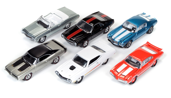 JLMC003-C-SET - Johnny Lightning Muscle Cars Release 3