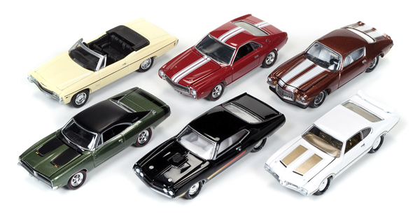 JLMC003-D-SET - Johnny Lightning Muscle Cars Release 3D