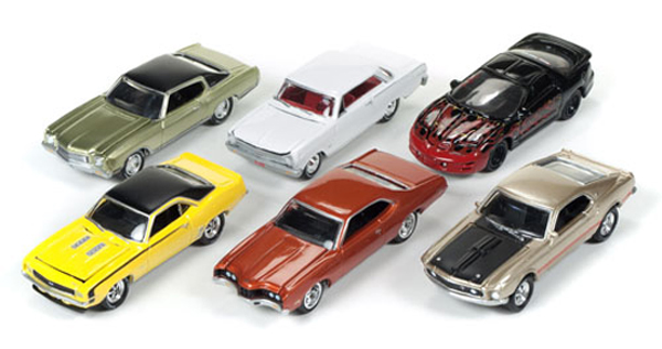JLMC004-A-CASE - Johnny Lightning Muscle Cars Release 4A
