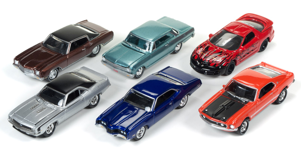 JLMC004-B-CASE - Johnny Lightning Muscle Cars Release 4B