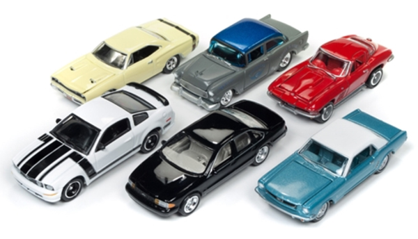 JLMC007-A-SET - Johnny Lightning Muscle Cars 2017 Release 4A