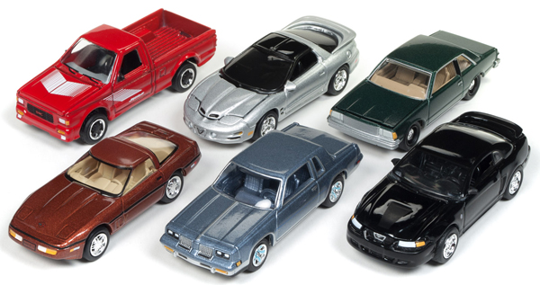 JLMC014-B-SET - Johnny Lightning Muscle Cars 2018 Release 1B