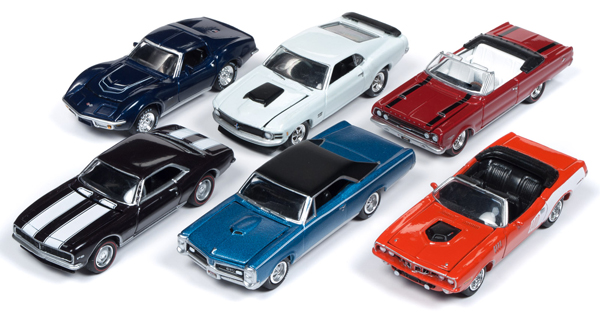 JLMC016-A-SET - Johnny Lightning Muscle Cars 2018 Release 4A