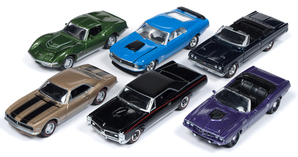JLMC016-B-SET - Johnny Lightning Muscle Cars 2018 Release 4B