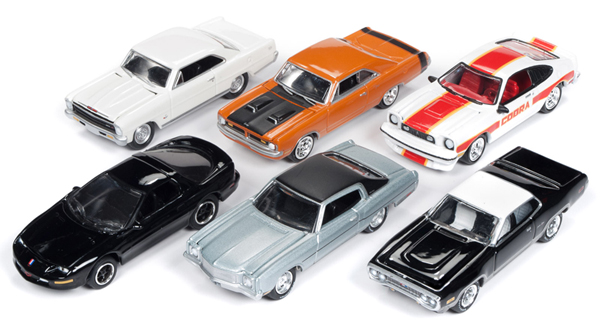 JLMC017-A-SET - Johnny Lightning Muscle Cars 2018 Release 5A