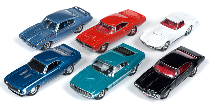 JLMC019-A-CASE - Johnny Lightning Muscle Cars 2019 Release 1A