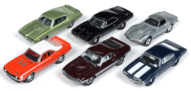 JLMC019-B-CASE - Johnny Lightning Muscle Cars 2019 Release 1B